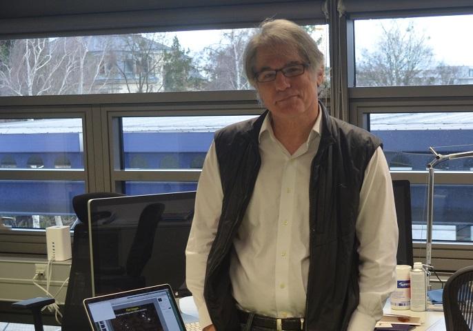 Gene Meyers in seinem Büro