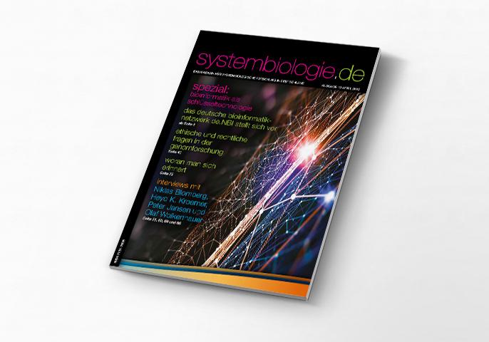 Aktuelle Ausgabe der Zeitschrift systembiologie.de
