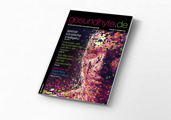 Aktuelle Ausgabe der Zeitschrift gesundhyte.de